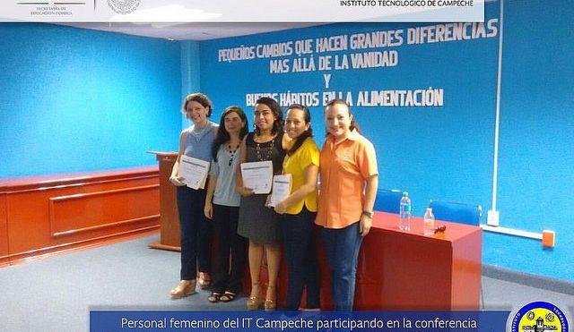 """Conferencia """"Pequeños cambios que hacen grandes diferencias"""" para personal docente y administrativo"""