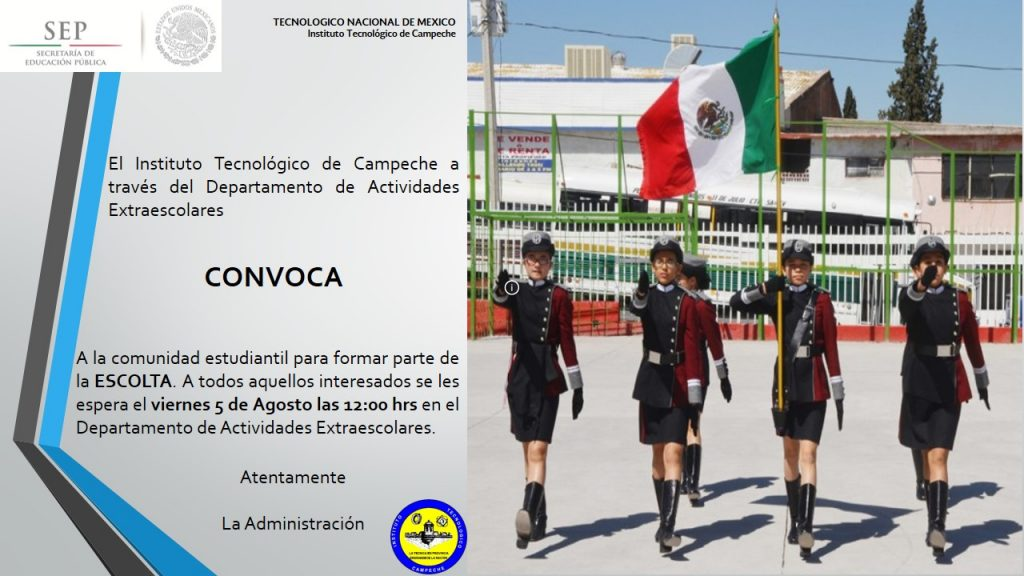CONVOCATORIA ESCOLTA final