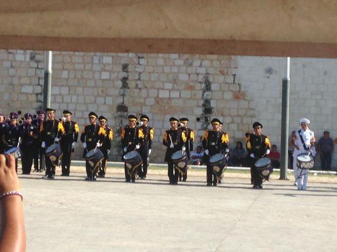 Participación en la Plaza de la República