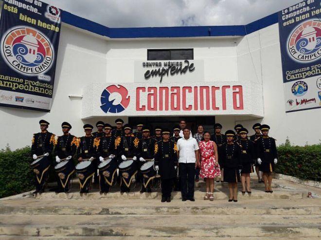 Participación en la toma de protesta de CANACINTRA Campeche