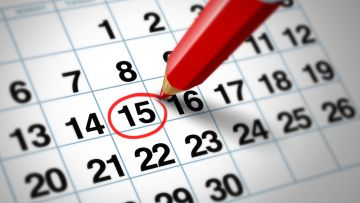 Calendario escolar periodo enero - junio 2020