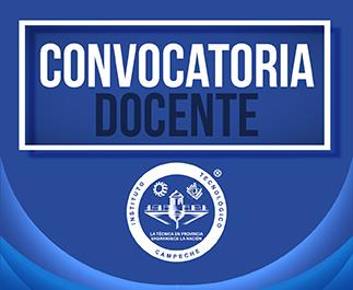 Convocatorias a concurso abierto para plazas docente