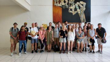Visita de estudiantes de Arquitectura de las Universidades Iberoamericanas, Campus Ciudad de México y de la Universidad de Newcastle, Australia