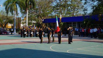 Homenaje cívico del mes de mayo