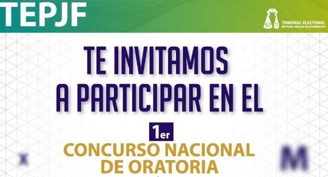 1er Concurso Nacional de Oratoria del Tribunal Electoral