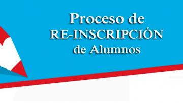 Procedimiento de reinscripción para el periodo escolar enero - junio 2020