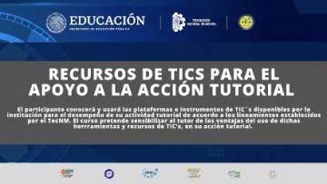 Clausura del curso: recursos de TIC's para el apoyo a la acción tutorial