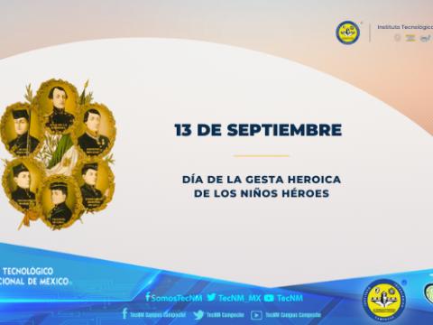 DÍA DE LA GESTA HEROICA DE LOS NIÑOS HÉROES